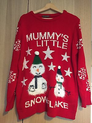 blooming marvellous Mothercare Maternity Christmas Jumper XL