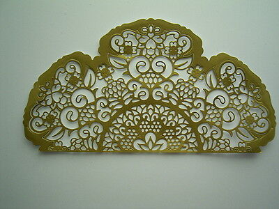 Large Stunning BRODERIE CHANTILLY DIE D856 Tattered Lace StephanieWeightman BNIP