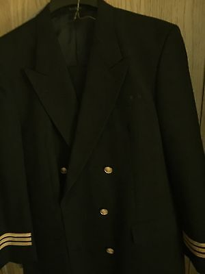 Vintage Custom Tailored Captain's Jacket And Pants