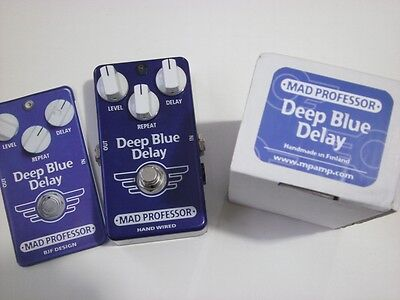 Mad Professor Deep Blue Delay - hand wired, boxed with instructions * * FREE P&P