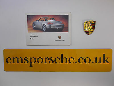 Genuine 1999 Porsche Boxster 986 Driver Operating Owners Manual Book Handbook