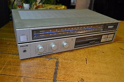 PHILIPS FR 140 AM FM STEREO RECEIVER hifi vintage sinto amplificatore