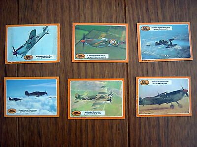 A&bc -  Battle Of Britain Cards  1969   X   6