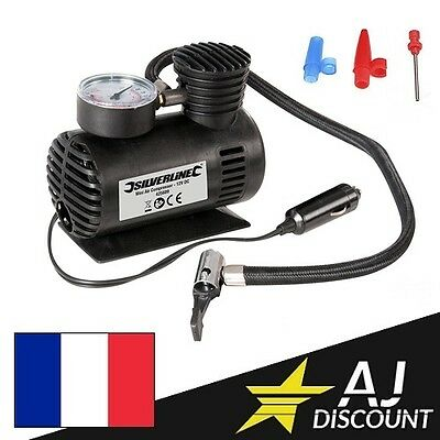 Compresseur d'air portable 12V - Mini gonfleur de pneu Automobile allume cigare
