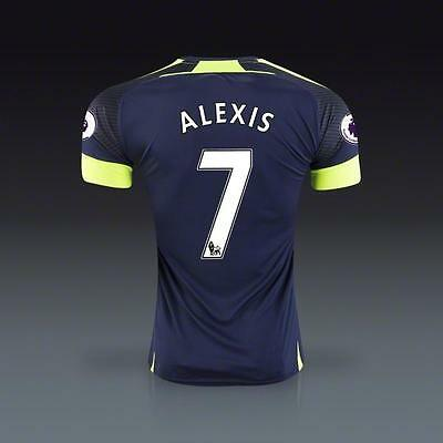 Arsenal Soccer Jersey Third Jersey ALEXIS 7 US size M