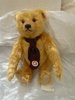 Steiff British Collectors . Teddy Bear. Ltd-Edition Exclusive To The Uk. New