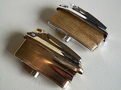 Ronson Varaflame Lighter Inserts for Table Lighters, Gold and Chrome