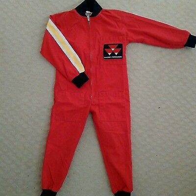 Childs Massey Ferguson Tractor Overall Suit 2/3 Years