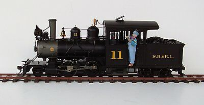 On30 Bachmann # 25495 - 2-4-4 Forney for DCC with Tsunami Sound - SR&RL No 11
