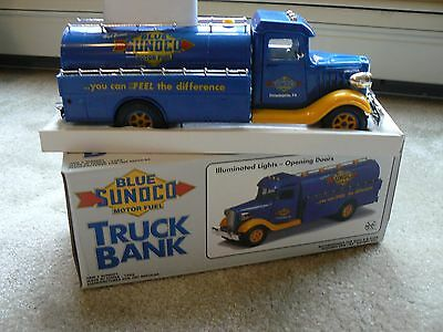 1993 Sunoco Vehicle Fuel Truck Bank -  Limited Edition  Mint In Box