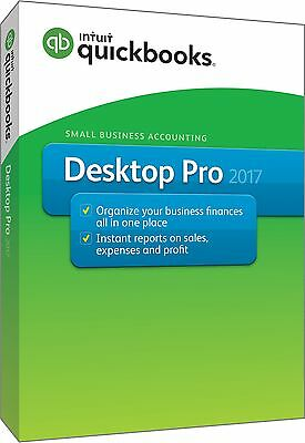 QuickBooks Pro 2017--2 User--Send us a message for price