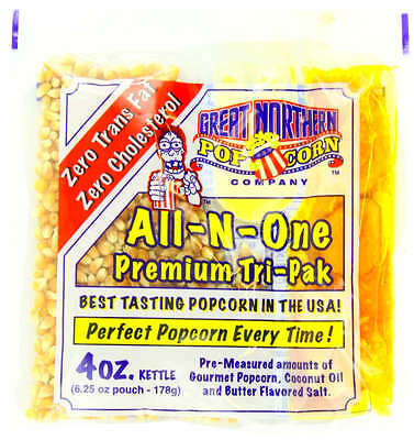 Great Northern Popcorn 4-Ounce Portion Packs (Pack of 24)