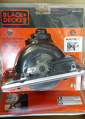 BLACK + DECKER - Trim Saw Attachment, Model BDCMTTS, New, sealed, MATRIX