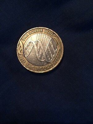 DNA Helix £2 Coin Two Pound Collector