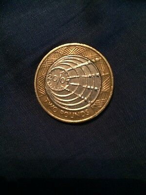 Marconi First Wireless Transmission £2 Coin Two Pound Collector