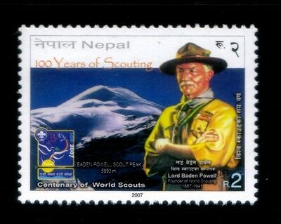NEPAL 100 Years of Scouting MNH stamp