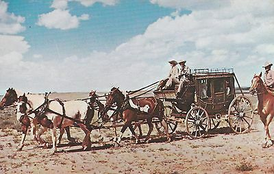 LAM (Q) Mountain Home, ID - Colonel Idaho Ellison Driving Stagecoach