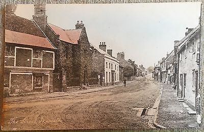 Ixworth Showing The Street Postcard (published By Grimmers Stores)