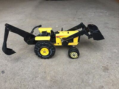 Vintage Tonka Toy Tractor Digger
