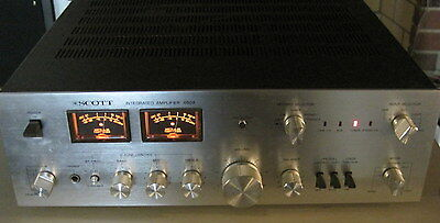 Scott Model 460A Integrated Stereo Amplifier==Extra Nice!