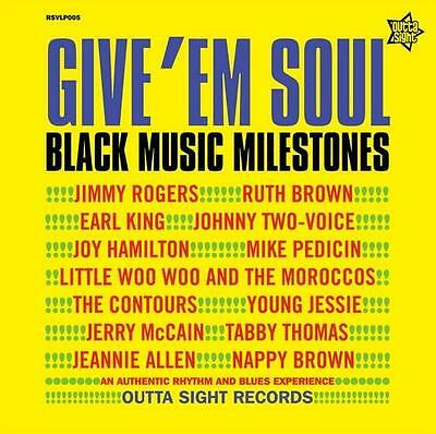 GIVE 'EM SOUL VOL 2 Various Artists NEW R&B NORTHERN SOUL LP VINYL (OUTTA SIGHT)