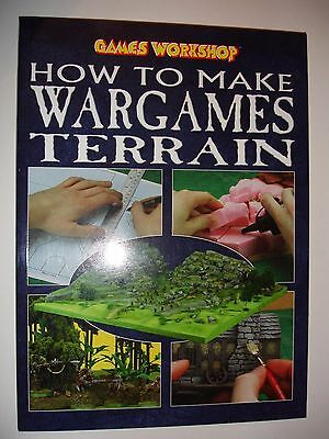 How to make Wargames Terrain.