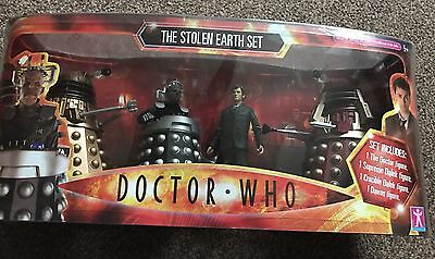 """Doctor Who The Stolen Earth Figure Set NEW VERY RARE 4 Figures 5"""""""