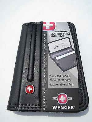 Wenger Swiss The Diplomat business/credit card case / holder / wallet....New!