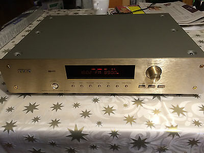 ♪♪ TEAC T-BX10 ♪♪ AM/FM Stereo Tuner (1997) Gold ♪♪