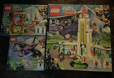 LEGO DC Super Hero Girls Lot 41230 41231 & 41232 SEALED *2 available* HTF MINT