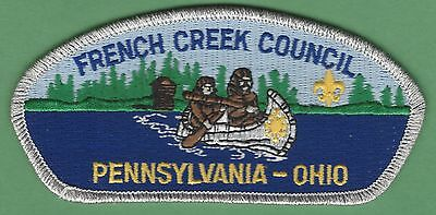 French Creek Council 532 Pennsylvania-Ohio Boy Scout Csp Patch S16