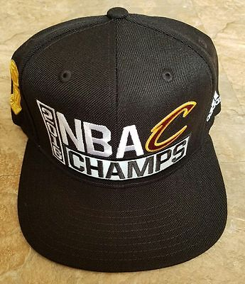 2016 Cleveland Cavaliers adidas NBA Champs Official Locker Room Hat