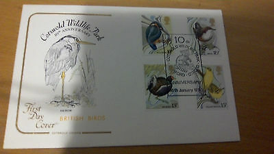 Cotswold Cover British Birds 1980 Cotswold Wildlife Park PM