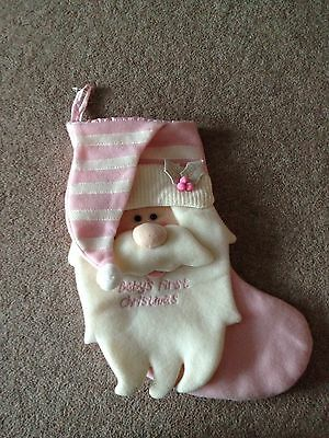 babys first christmas stocking