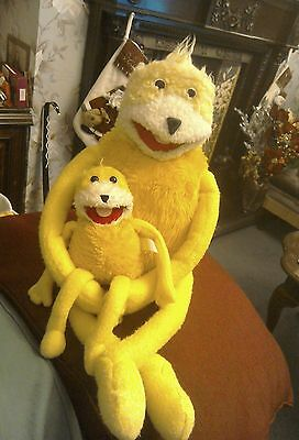 Mr Oizo soft toy from the  Levi's advert. one large one small