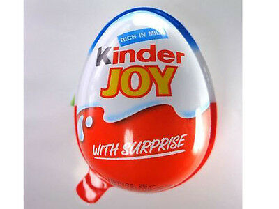 10x Kinder Joy Chocolate Eggs - Boys - surprise gifts inside full exciting gift