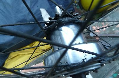 "Sturmey Archer FG Dyno Four hub gearbox   54 1 off Rudge 26"" rear wheel"