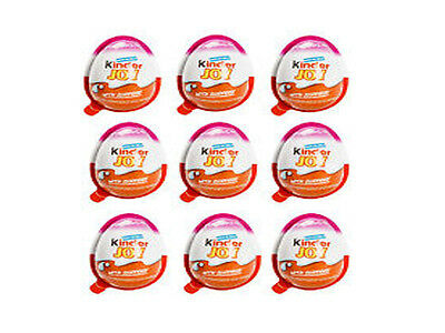9x Kinder JOY Surprise Eggs,   Chocolate Best Gift Toys For GIRLs lowest price