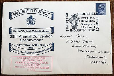 Sedgefield Railway Cover – 1978 Spennymoor Convention (Le2)
