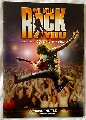 WE WILL ROCK YOU. the Musical at the Dominion Theatre