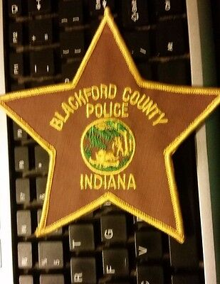 blackford county indiana police patch