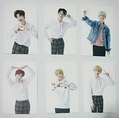 NCT SMTOWN SUM Limited Edition Official Photo Card Photocard SET (6 pcs) Rare