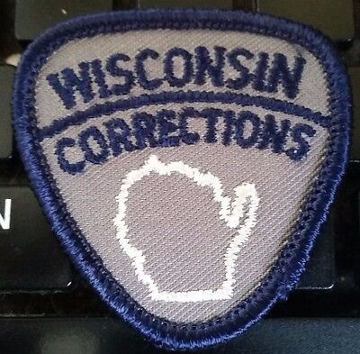 Wisconsin corrections mini patch very small