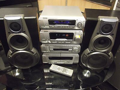 Technics H Plus Hi Fi 5 Disc CD System,all separates With remote