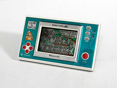 Nintendo Game & Watch New Wide Donkey Kong Jr. DJ-101 MIJ 1982 Good Condition_10