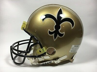 New Orleans Saints Authentic Ridell Proline Throwback Helmet