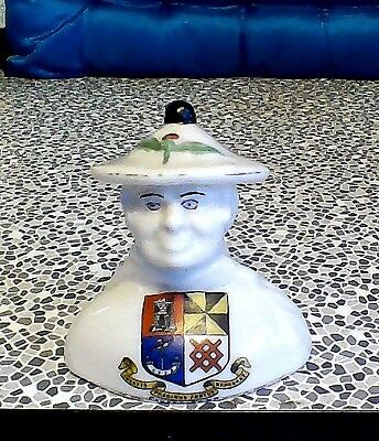 Crested china    Bust of Harry Lauder
