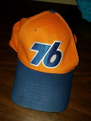 Union 76 Unocal Gas Station Oil Racing Vintage Snap Back Hat Great' Condition