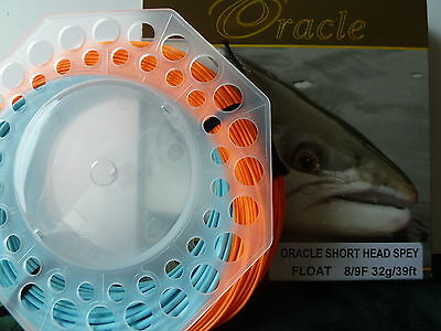 ORACLE SHORT HEAD SPEY 8/9 FLOATING LINE | 32g / 39ft