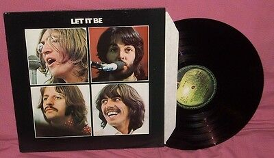 Beatles-Let It Be-Uk Press-Near Mint Lp